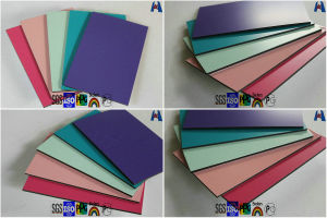 ACP Cladding Sheet Aluminium Composite Panel/Flexible Mirror Material pictures & photos
