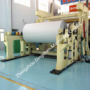 Horizontal Pneumatic Paper Winding Machine pictures & photos