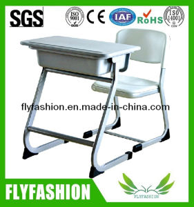 Classroom Furniture Plastic School Desk and Chair Set (SF-46) pictures & photos