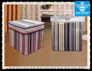 Tremendous China Square Cotton Kids Storage Ottoman Wmsl 010 China Machost Co Dining Chair Design Ideas Machostcouk
