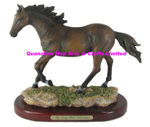 Polyresin Horse Statue, Resin Horse Sculpture pictures & photos