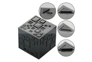 Mini Square Bass Wireless Magic Cube TF Bluetooth FM Rubik′s Cube Speaker with LED Flashlight pictures & photos