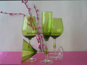 Set of 4PCS of Hand Made Solid Color Drinking Glassware (B-GS04) pictures & photos