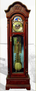 Solid Wood Grandfather Clock (MG2307)