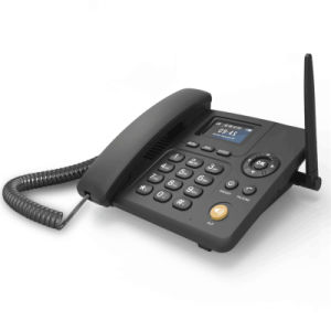 Call Divert/Call Waiting Support Desktop SIM Card 3G Table Phone/3G Fixed Wireless Phone pictures & photos