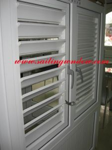 PVC Windows - Shutter Louver Windows