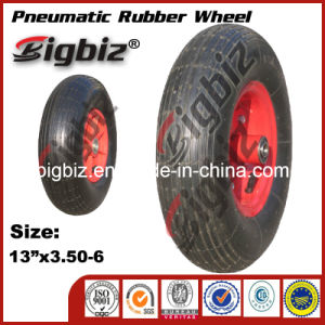 Wholesale 3.50-6 Solid Rubber Wheelbarrow Tire/Tyre pictures & photos