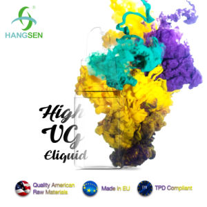 Hangsen High Vg E Liquid 70vg 30pg with Huge Vapor pictures & photos