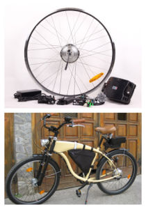 Popular E-Bike Conversion Kits 36V 350W CE Approved (JB-FV700-F) pictures & photos