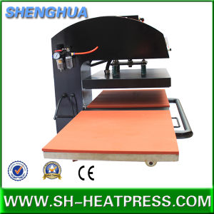 Sublimation Transfer Printing Twin Table Pnuematic Heat Press Machine Cheap Price for Sale pictures & photos