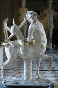 Marble Sculpture/Stone Carving/Marble Statue (BJ-FEIXIANG-0035) pictures & photos