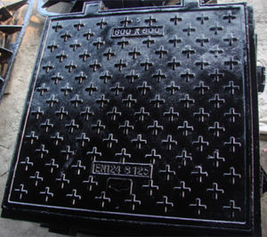 En124 Lockable Sewer Cover /Gully Cover/Manhole Cover