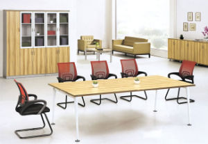 MFC Top Metal Leg Conference Table