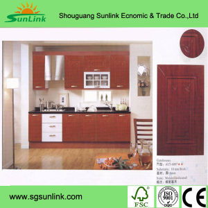 Fashion Design Wooden Closet Cabinet Bedroom Sliding Mirror Wardrobe Doors pictures & photos