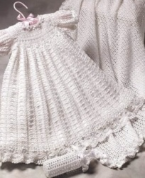 China Crochet Christening Gown China Christening Gown Christening