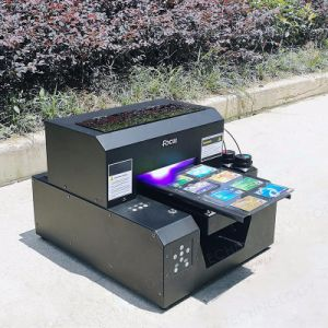 Small Size A4 Digital UV Flatbed Printer for Phone Case Printing pictures & photos