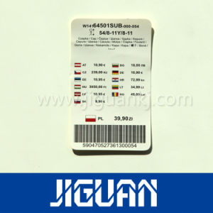 Custom Cheap Printed Barcode Price Paper Tag pictures & photos