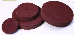 8X2 Non Woven Polishing Wheel for Hairline Finishing pictures & photos