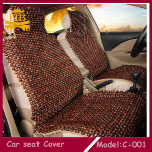China Cool Massaged Wood Beads Car Seat Cushion, Car Seat Cover ...