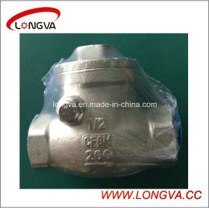 Stainless Steel Spring Type CF8m Female Check Valve pictures & photos