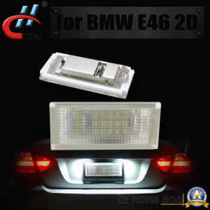 E46 2D 3W 3528 LED Canbus Auto License Plate Lamp for BMW