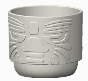China Creative High Quality 3D Drawing Plastic Cup - China Glass Cup