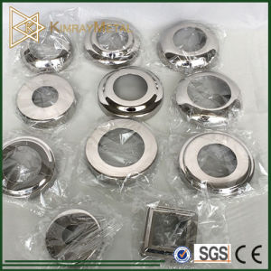Stainless Steel Handrail Base Plate Covers