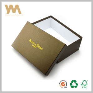 High Quality Brown Colour Shoe Box pictures & photos