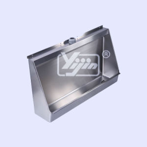 Hand Made Stainless Steel T-304 Wall Hung Urinal Trough