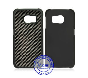 huge discount 51ec1 01c7d Phone Accessories for Samsung Galaxy S6 Edge Carbon Fiber Plastic Covers
