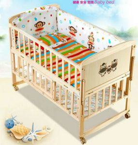 Solid Wood Baby Cot Bed Furniture Whole Net