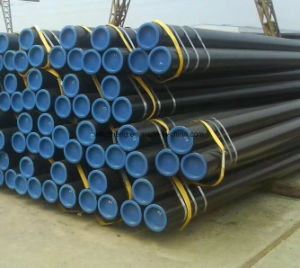 API 5L Seamless Steel Tube, API 5L Water Line Pipe, ASTM Line Pipe B X42 X52 X60 pictures & photos