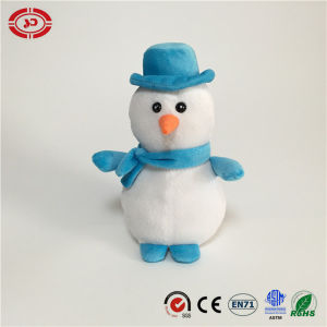 Snowman White Stuffed Plush Soft Xmas Gift Cute Toy pictures & photos
