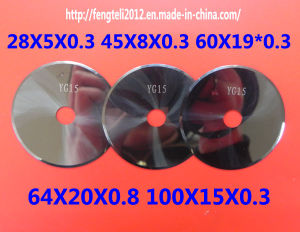Carbide Cutter/Tungsten Carbide Rotary Cutters Circular Blade pictures & photos