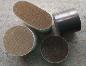 High Quality Metal Honeycomb Catalytic Converter Substrates pictures & photos