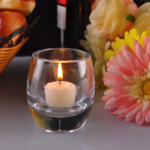 Heavy Bottom Clear Candle Holders pictures & photos