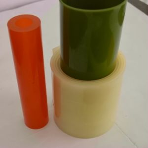 Anti-Shock Colorful PU Polyurethane Plastic Sheet / Roll pictures & photos