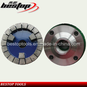 D150mm M45 Threaded Diamond Calibrating Wheel for Grinding Stone Slabs pictures & photos