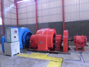 Medium Size Francis Hydro (Water) Turbine-Generator 30~55m Head Hla678-Wj-69 / Hydropower /Hydroturbine pictures & photos