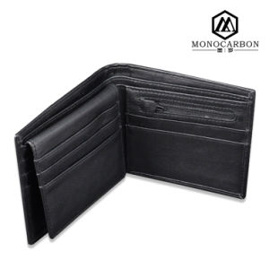 Hot Products Luxury Men Real Carbon Fiber Wallet Foldable pictures & photos