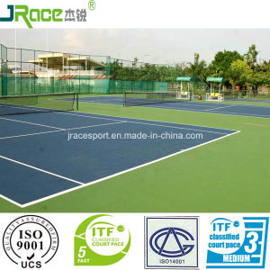 China Supplier Tennis Court Floor Sport Surfacing pictures & photos