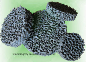 Round Sic Ceramic Foam Filter for Molten Metal Casting pictures & photos