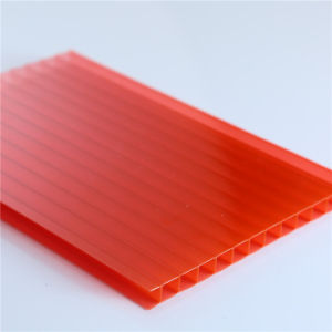 2016 Polycarbonate Twin Wall Sheet Price From China Manufacture