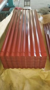 Color PPGI Steel Sheet/Corrugated Galvanized Metal Roof Tile pictures & photos