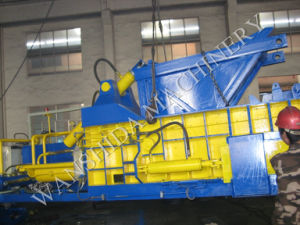 China Waste Aluminum Cans Baler for Sale