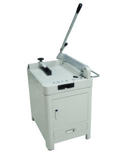 Manual Guillotine Paper Cutter with Cabinet Wd-868A3 pictures & photos