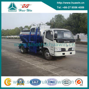 DFAC 5 Cbm 4X2 Refuse Collecter Truck for Restaurant Waste pictures & photos
