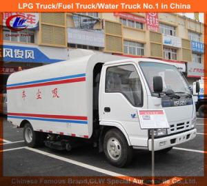Pm10 Certified Isuzu Vacuum Road Sweeper in Road Sweeping Truck pictures & photos