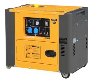 5kw Portable Silent Diesel Generator Air-Cooled Great Color Matching pictures & photos