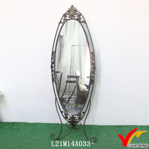 Hook Antique Wall Decorative Mirror with Metal Frame pictures & photos